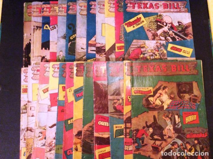 Tebeos: TEXAS BILL (H. AMERICANA 1954). LAS AVENTURAS DE TEX MAS DESCONOCIDAS EN ESPAÑOL. - Foto 8 - 205330535