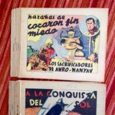 Tebeos: EDITORIAL ESPAÑOLA-MONOGRÁFICOS-1939-COMPLETA 14 NÚMEROS-B/N Y COLOR-21X17 CM. Lote 205407980