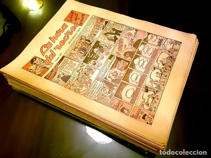 LA HORA DEL RECREO (SUP. INFANTIL DE LEVANTE). ¡¡ LOTE DE 260 Nº !! (Tebeos y Comics - Tebeos Colecciones y Lotes Avanzados)