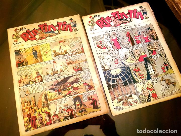 Tebeos: RIN-TIN-TIN (1ª EPOCA). ¡¡ UN LOTE HISTORICO !! - Foto 11 - 205753200