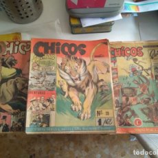 Tebeos: CHICOS CID CON ALMANAQUE DOS HOMBRES BUENOS. Lote 205775190