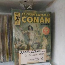 Tebeos: SUPER CONAN (LA ESPADA SALVAJE), COLECCIÓN COMPLETA 16 Nº, 1ª EDICIÓN, EDITORIAL PLANETA.. Lote 205786098