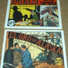 Tebeos: MC KAY DE LA POLICIA MONTADA COMPLETA 1940 REEDICION DE 1980 IMPECABLE- LEER. Lote 205898091