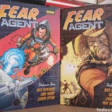 Tebeos: FEAR AGENT - RICK REMENDER - COMPLETA 2 TOMOS. Lote 206568530