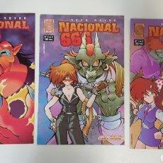 Tebeos: NACIONAL 666 / COMPLETA / LÍNEA LABERINTO. Lote 207074401