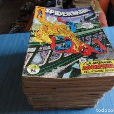 Tebeos: SPIDERMAN VOL.1. LOTE DE DE 84 Nº DE 314. + 2 EXTRAORDINARIOS. ED. PLANETA/FORUM 1983. C-55. Lote 207145385