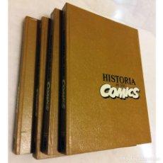Tebeos: HISTORIA DE LOS COMICS. 4 TOMOS. COMPLETA. TOUTAIN.. Lote 207337625
