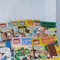 Livros de Banda Desenhada: 11 COMICS DE MORTADELO Y FILEMON. Lote 209666136
