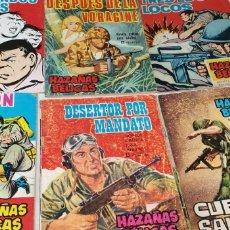 Tebeos: LOTE COMICS HAZAÑAS BELICAS 6 EJEMPLARES. Lote 209667401