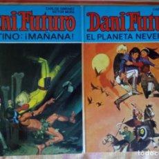 Livros de Banda Desenhada: DANI FUTURO COMPLETA: Nº 1 Y 2 DESTINO MAÑANA Y EL PLANETA NEVERMOR - BRUGUERA. Lote 209796050