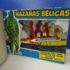 BDs: ANTIGUO TOMO ENCUADERNADO CON 16 TBO COMIC HAZAÑAS BELICAS + HAZAÑAS DEL OESTE ORIGINALES. Lote 210036277