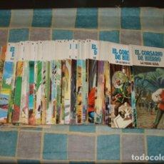 Giornalini: EL CORSARIO DE HIERRO, 1977, COMPLETA, BRUGUERA, 58 NÚMEROS, IMPECABLES. Lote 210375751