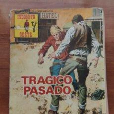 BDs: INDÓMITO OESTE: TRÁGICO PASADO (N° 102). Lote 210389460