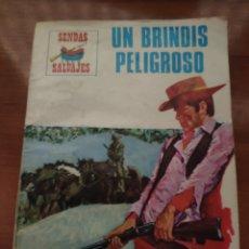 BDs: SENDAS SALVAJES: UN BRINDIS PELIGROSO (N° 17?). Lote 210399191