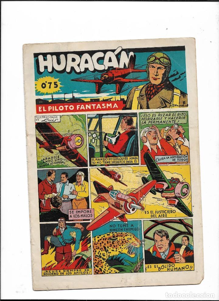 HURACÁN EL PILOTO FANTASMA AÑO 1942 COLECCIÓN COMPLETA SON 12 TEBEOS ORIGINALES (Tebeos y Comics - Tebeos Colecciones y Lotes Avanzados)