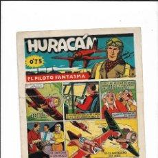 Tebeos: HURACÁN EL PILOTO FANTASMA AÑO 1942 COLECCIÓN COMPLETA SON 12 TEBEOS ORIGINALES. Lote 210651484