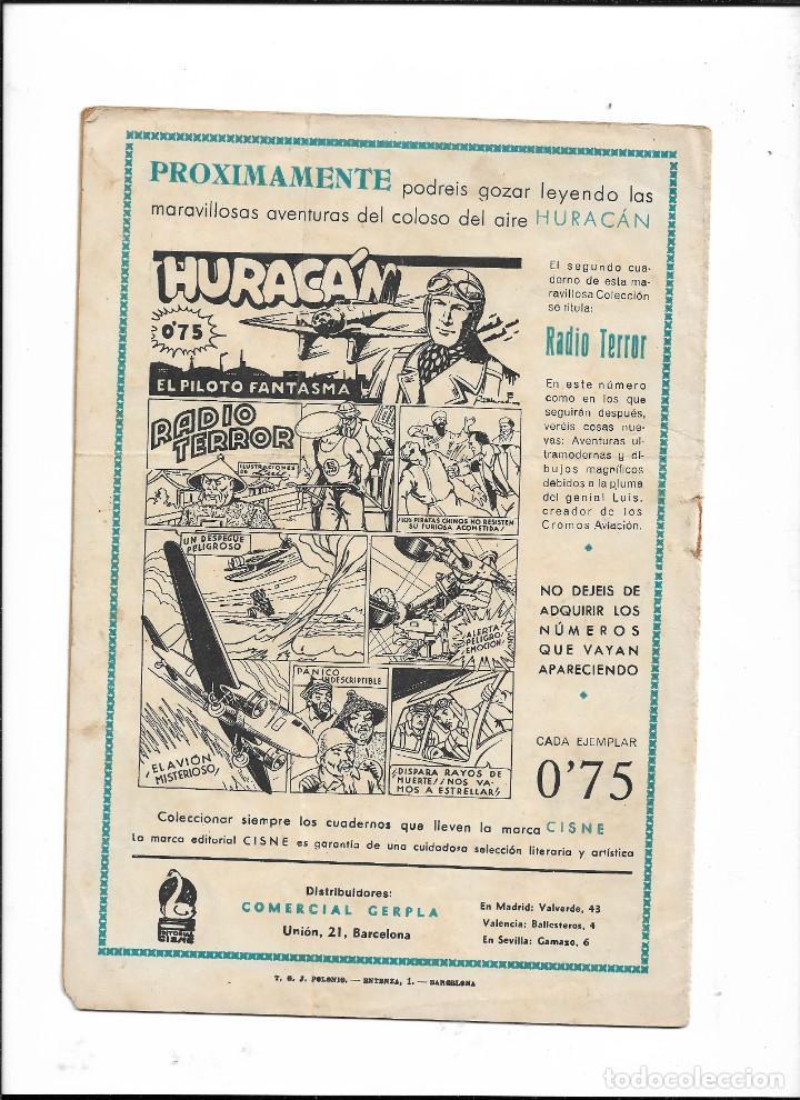 Tebeos: Huracán el Piloto Fantasma Año 1942 Colección Completa son 12 Tebeos Originales - Foto 2 - 210651484