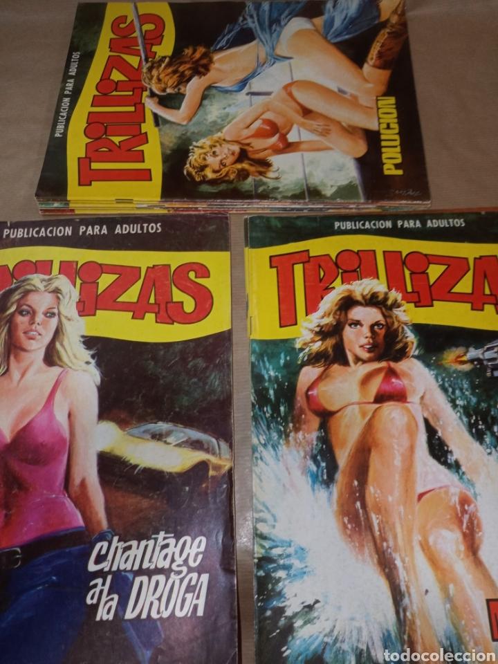 COLECCIÓN COMPLETA TRILLIZAS 11 NÚMEROS (Tebeos y Comics - Tebeos Colecciones y Lotes Avanzados)