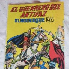 Tebeos: ALMANAQUE 1965 EL GUERRERO DEL ANTIFAZ. Lote 210947434