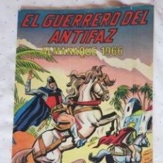 Tebeos: ALMANAQUE 1966 EL GUERRERO DEL ANTIFAZ. Lote 210947669