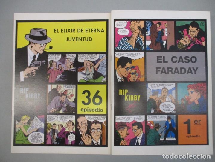 COLECCION COMPLETA RIP KIRBY / ALEX RAYMOND _ 36 EJEMPLARES - MUY BUEN ESTADO (Tebeos y Comics - Tebeos Colecciones y Lotes Avanzados)