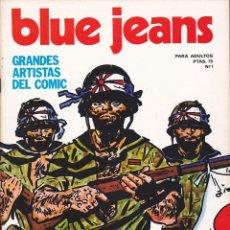 Tebeos: COLECCIÓN COMPLETA, BLUE JEANS, NUEVA FRONTERA. 27 EJEMPLARES.. Lote 211670814