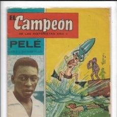 Tebeos: EL CAMPEÓN DE LA HISTORIETA AÑO 1960 LOTE DE 90 TEBEOS ORIGINALES INCLUIDOS 1 ALMANAQUE Y 2 EXTRAS. Lote 185938976