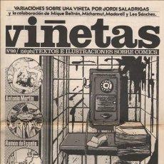 Tebeos: COLECCION DE 3 EJEMPLARES VIÑETAS EDITORIAL JOAN NAVARRO. Lote 212779657