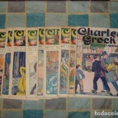 BDs: CHARLES GROCK, COMPLETA, 9 NÚMEROS, VINCIT, MUY BUEN ESTADO. COLECCIÓN A.T.. Lote 213046142