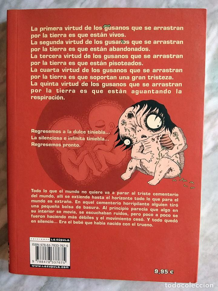 Tebeos: Lote cómics terror Hideshi Hino Criatura maldita Daniel Clowes guante seda forjado hierro ZOMBIES! - Foto 8 - 213160001
