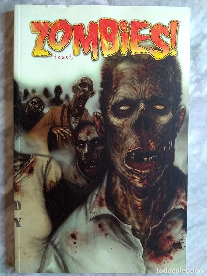 Tebeos: Lote cómics terror Hideshi Hino Criatura maldita Daniel Clowes guante seda forjado hierro ZOMBIES! - Foto 12 - 213160001
