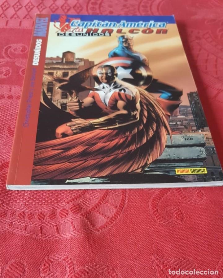 MARVEL - CAPITÁN AMÉRICA Y EL HALCÓN, DESUNIDOS - TOMO 2 - PANINI (Tebeos y Comics - Tebeos Colecciones y Lotes Avanzados)