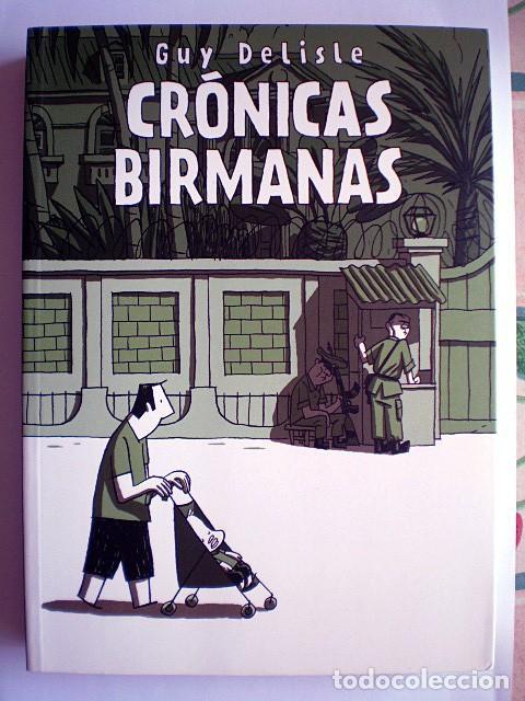 Tebeos: Lote 4 cómics Hombre Enmascarado (2 tomos) Guy Delisle Crónicas birmanas Terminal City (Vertigo) - Foto 2 - 213192492