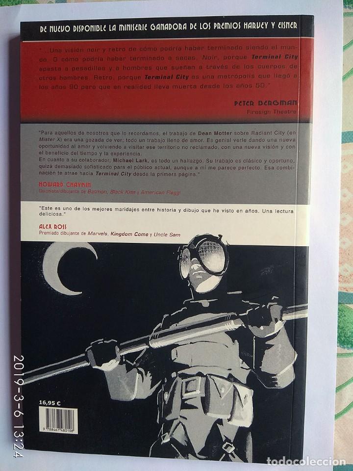 Tebeos: Lote 4 cómics Hombre Enmascarado (2 tomos) Guy Delisle Crónicas birmanas Terminal City (Vertigo) - Foto 11 - 213192492