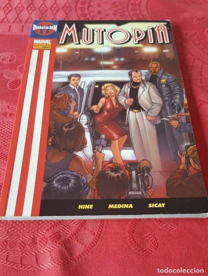 MUTOPIA X - DINASTÍA DE M - INTEGRAL (RECOGE LA SERIE DE 5 CÓMICS) - PANINI (2006)- VER DESCRIPCIÓN (Tebeos y Comics - Tebeos Colecciones y Lotes Avanzados)