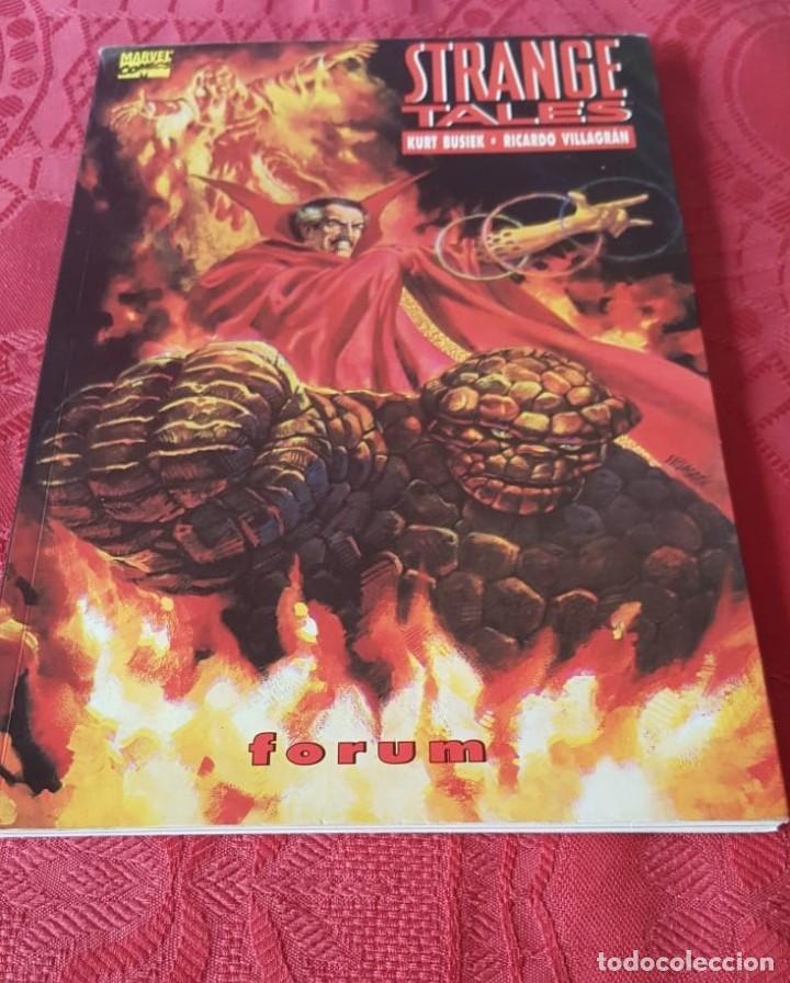 STRANGE TALES, TOMO 6 DE BUSIEK Y VILLAGRÁN - FORUM (1995) (Tebeos y Comics - Tebeos Colecciones y Lotes Avanzados)