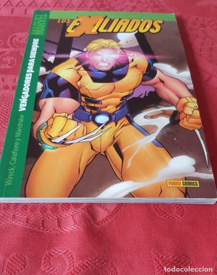 LOS EXILIADOS TOMO 8 : VENGADORES PARA SIEMPRE - DE WINICK/CALAFIORE/MANDRAKE - PANINI (2003) (Tebeos y Comics - Tebeos Colecciones y Lotes Avanzados)