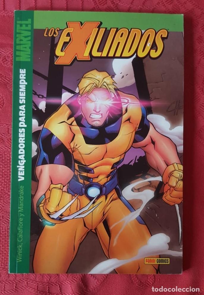Tebeos: LOS EXILIADOS TOMO 8 : VENGADORES PARA SIEMPRE - DE WINICK/CALAFIORE/MANDRAKE - PANINI (2003) - Foto 2 - 213229805