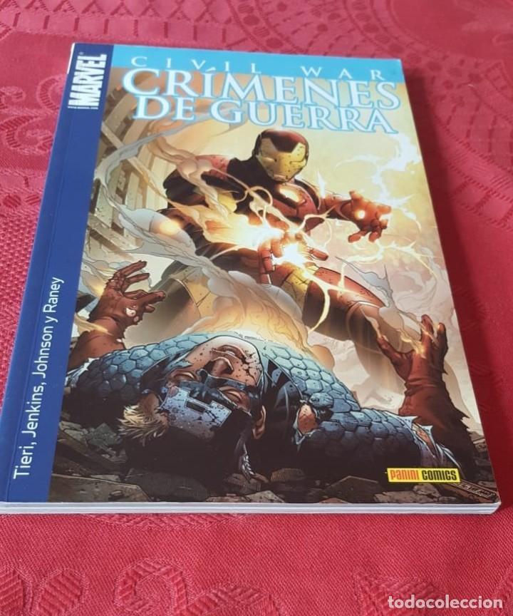 MARVEL - CIVIL WAR, CRIMENES DE GUERRA - TOMO UNICO, 1 - PANINI (2007) (Tebeos y Comics - Tebeos Colecciones y Lotes Avanzados)