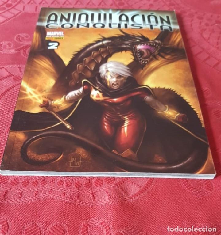 ANIQUILACIÓN CONQUISTA, TOMO 2, DESTINO - PANINI (2008) (Tebeos y Comics - Tebeos Colecciones y Lotes Avanzados)