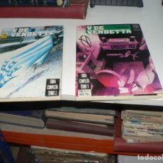Livros de Banda Desenhada: COLECCION DE DOS TOMOS COMPLETA DE V DE VENDETA. Lote 213416747