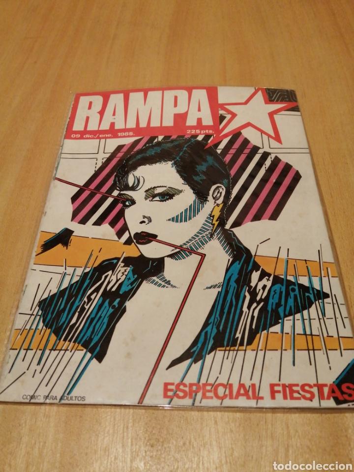 RAMPA. ESPECIAL FIESTAS. N 9. DIC/ENE 1985 (Tebeos y Comics - Tebeos Pequeños Lotes de Conjunto)