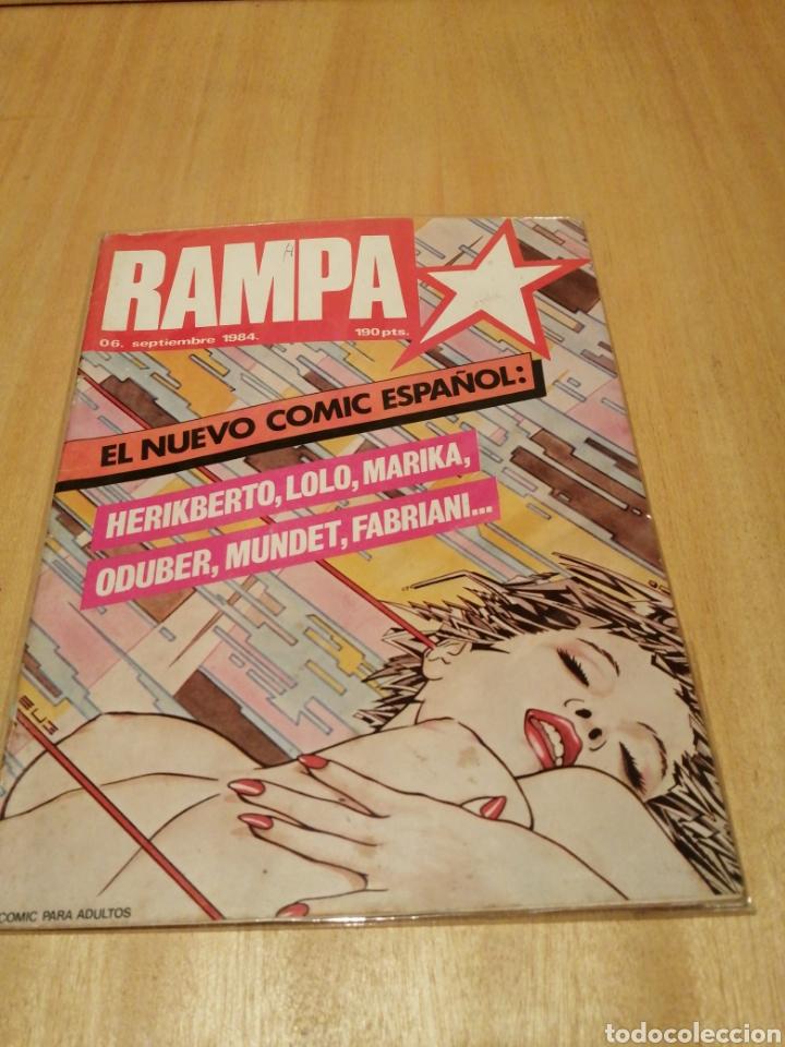 RAMPA. N 6. SEPTIEMBRE 1984. (Tebeos y Comics - Tebeos Pequeños Lotes de Conjunto)