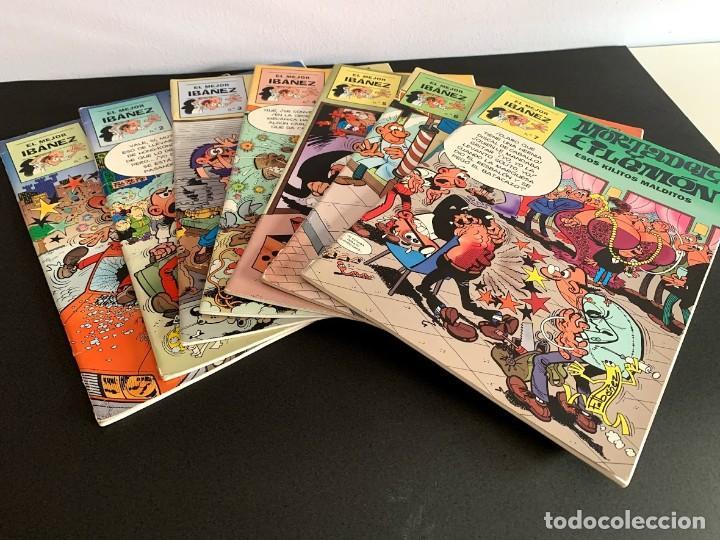 LO MEJOR DE IBÁÑEZ LOTE 7 (DE 8) CASI COMPLETA (Tebeos y Comics - Tebeos Pequeños Lotes de Conjunto)