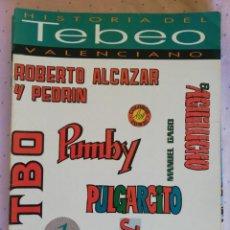 Tebeos: HISTORIA DEL TEBEO VALENCIANO COMPLETA. Lote 213463303
