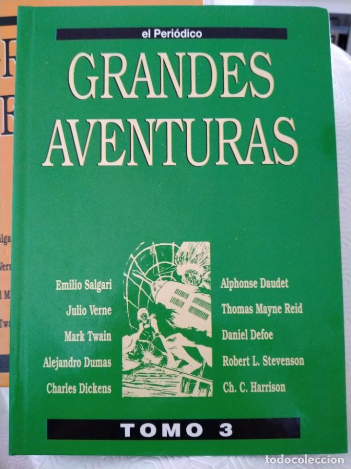Tebeos: COLECCION GRANDES AVENTURAS. LOTE DE LOS 4 TOMOS: 1, 2, 3 Y 4. EL PERIODICO. 95 HISTORIAS EN COLOR. - Foto 6 - 213532655