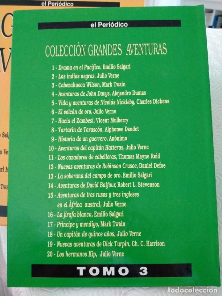 Tebeos: COLECCION GRANDES AVENTURAS. LOTE DE LOS 4 TOMOS: 1, 2, 3 Y 4. EL PERIODICO. 95 HISTORIAS EN COLOR. - Foto 7 - 213532655