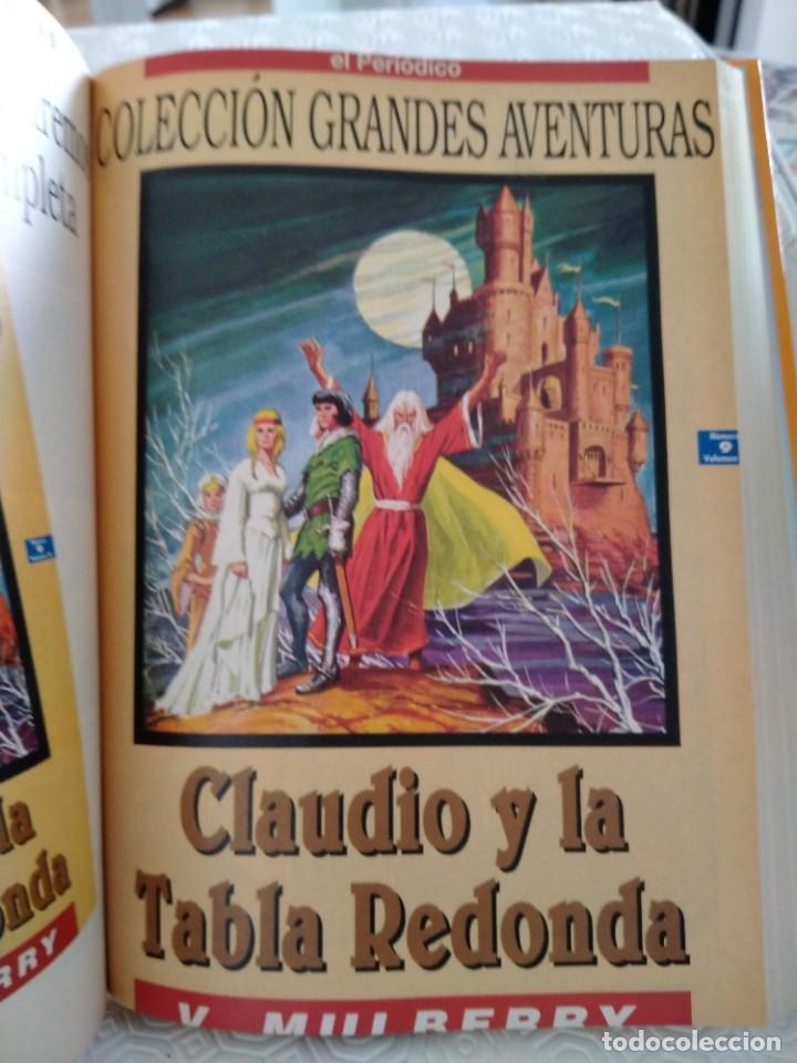Tebeos: COLECCION GRANDES AVENTURAS. LOTE DE LOS 4 TOMOS: 1, 2, 3 Y 4. EL PERIODICO. 95 HISTORIAS EN COLOR. - Foto 10 - 213532655