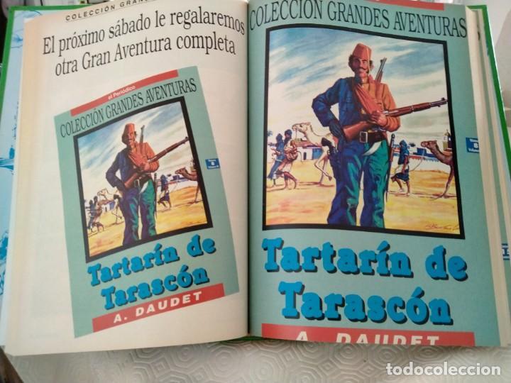 Tebeos: COLECCION GRANDES AVENTURAS. LOTE DE LOS 4 TOMOS: 1, 2, 3 Y 4. EL PERIODICO. 95 HISTORIAS EN COLOR. - Foto 12 - 213532655