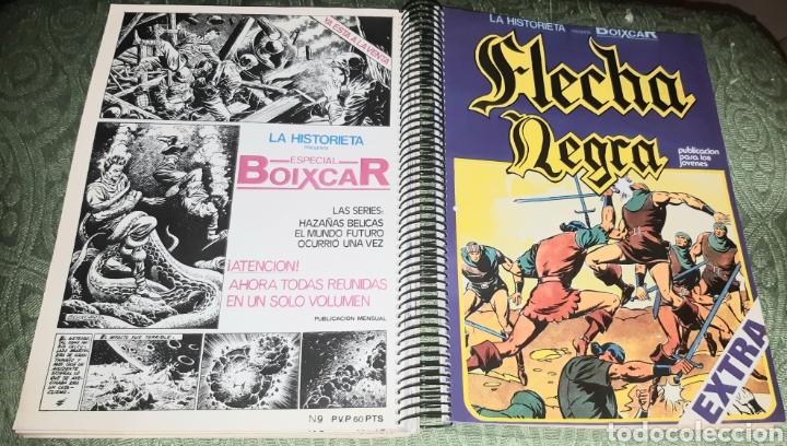Tebeos: TEBEOS-COMICS GOYO - FLECHA NEGRA - COMPLETA - URSUS - AA98 - Foto 4 - 214222833